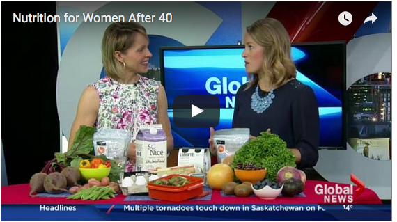 Nutrition for Women Over 40 - Perimenopause and Menopause