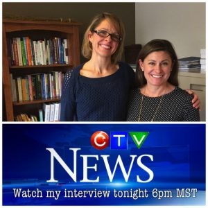 Nutrition Expert Andrea Holwegner on CTV: Canada's NEW Food Guide Labels and More