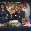 Meal Planning in a Crunch from nutrition expert Andrea Holwegner