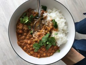 Vegetarian Crockpot Recipe: Red Curry Lentils