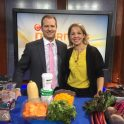 Andrea Holwegner and Jefferson Humphries on CTV morning live