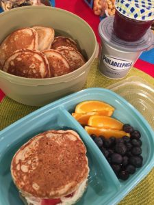 protein pancakes for breakfast on the go