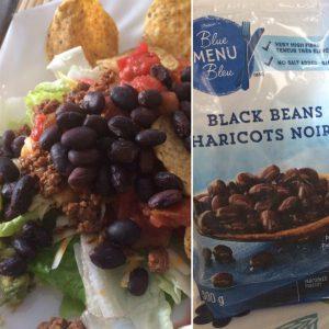 frozen black beans help make meal prep easy
