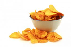 Bowl of chips helps control portion sizes