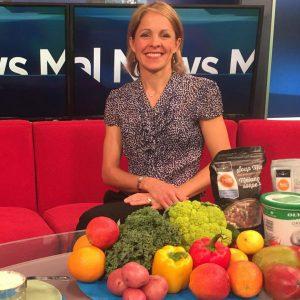 Andrea Holwegner speaking on Global TV about Detoxes
