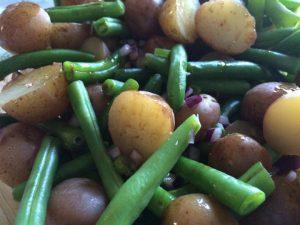 green bean and potato salad recipe