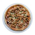 BBQ tortilla pizza recipe Pulse Canada