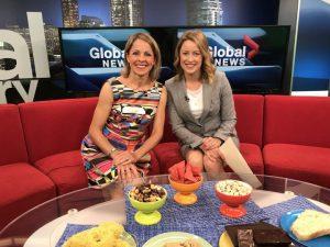 Calgary RD Andrea Holwegner on Global TV June 2017