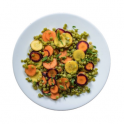 Pea and Carrot Salad recipe Pulse Canada
