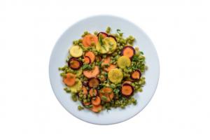 Pea and Carrot Salad recipe Pulse Canada