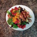 Fast Salmon Dinner- Chili Lime Salmon