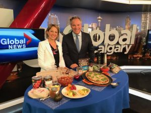 Andrea Holwegner on Global TV