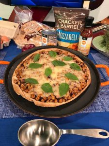 BBQ Tortilla Pizza - Just Add Pulses