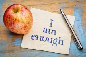 Weight Loss Self reflection, affirmation