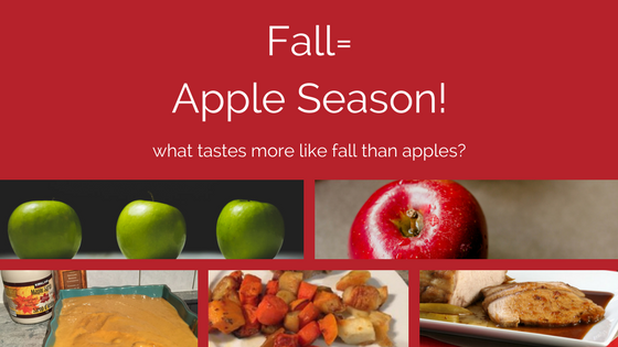 fall is apple season graphic