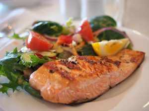 Salmon superfood for menopause