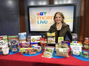 Calgary Dietitian Andrea Holwegner on CTV Morning Live