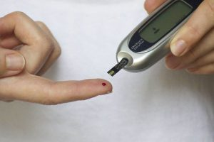 Diabetes blood sugar check