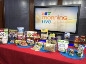 assorted healthy processed foods to keep eating