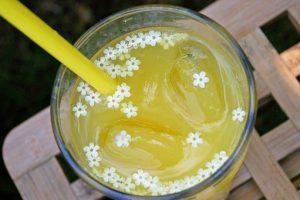 Elderflower beverage