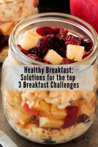 mason jar overnight oats apples cranberry cinnamon pinterest pin