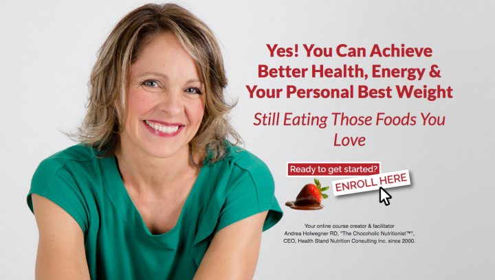 Online Nutrition Course by Registered Dietitian Andrea Holwegner
