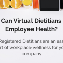 Virtual dietitians