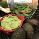 High protein vegetarian guacamole