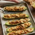 Healthy Recipe for Italian Zucchini Boats