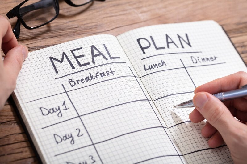 How to meal plan - dietitians tips