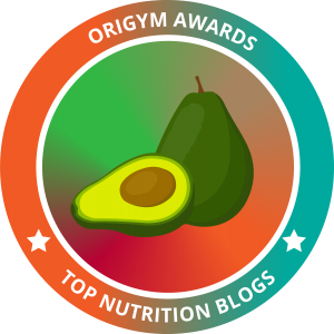 top nutrition blog badge for origym personal training courses for Andrea Holwegner and the Dietitians of Health Stand Nutrition
