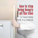 how to stop feeling hungry all the time