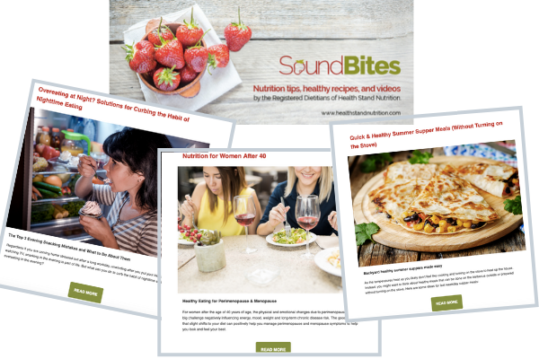 Top Nutrition Newsletter Health Stand Nutrition Dietitian Team