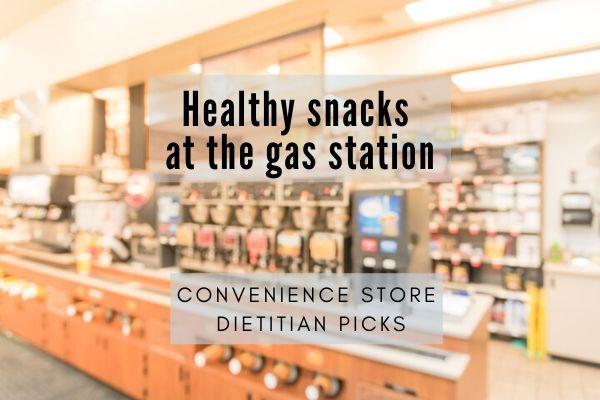 healthy snacks convenience store