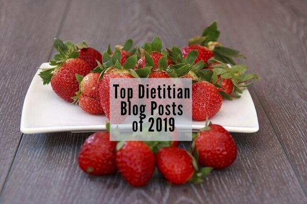 most popular dietitian blog posts 2019