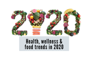2020 food trends, nutrition health and wellness