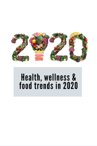 2020 food trends health and wellness and nutrition trends