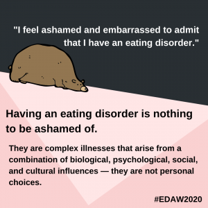 eating disorder awareness week 2020