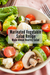 Mixed Vegetable Salad in bowl
