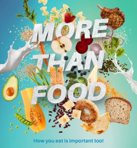 nutrition month more than food 2020 graphic