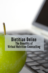 online dietitian for virtual nutrition counseling