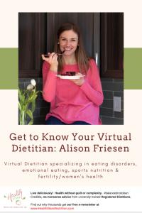 online dietitian alison friesen