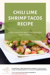 shrimp and vegetable tacos in a flour tortilla