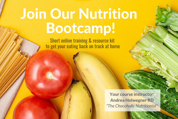 Nutrition Bootcamp online Dietitian training