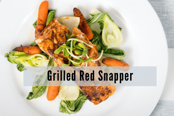 Grilled Red Snapper Recipe