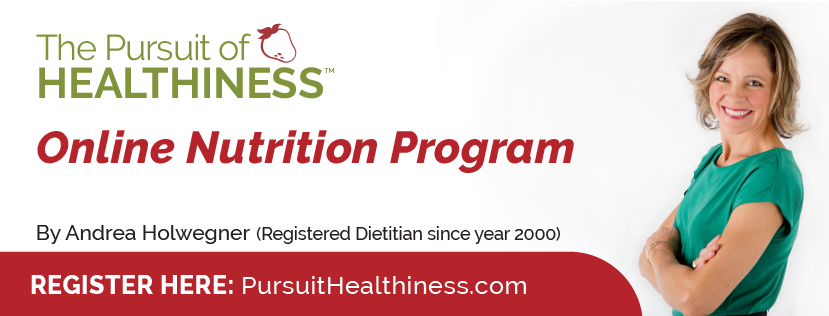 pursuit of healthiness online course promotional banner