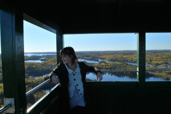 Christine Devaney-Towsley in Timmins Northern Ontario