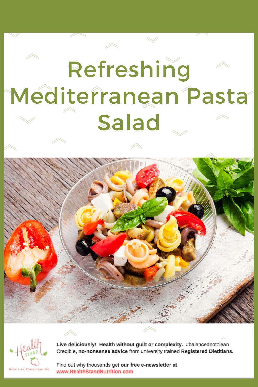 Recipe for mediterranean pasta salad
