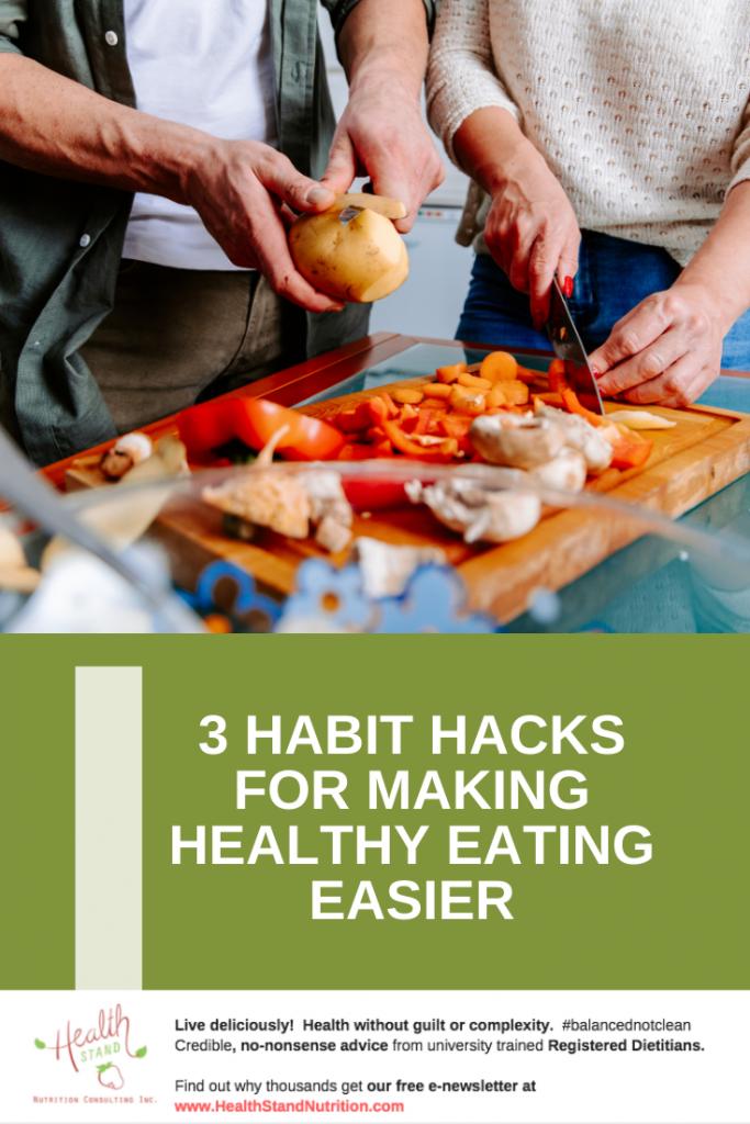 healthy eating habit hacks