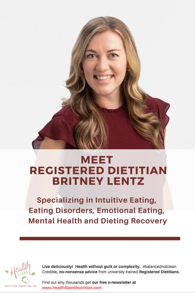 dietitian britney lentz eating disorder nutritionist